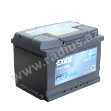 Premium Carbon EA612 - 61AH/600