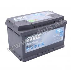 Premium Carbon EA722 - 72AH/720